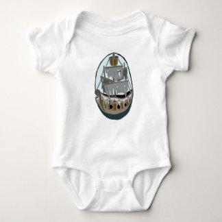 Geist-Schiff Baby Strampler