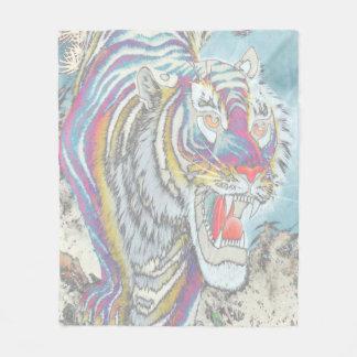 Geist-Tiger-Fleece-Decken-Medium Fleecedecke