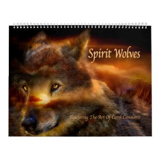 Geist-Wolf-Kunst-Kalender Kalender