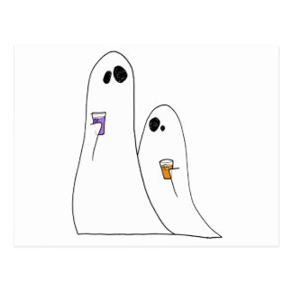 Geister Postkarte