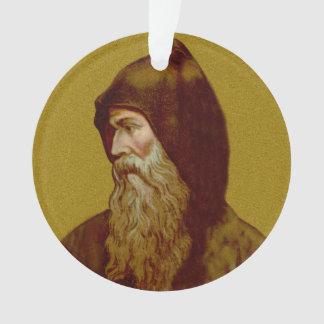 Geisterbild-St. Cyril der Mönch (M 002) Circ Acryl Ornament