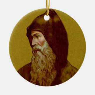 Geisterbild-St. Cyril die Keramik des Mönch-(M Keramik Ornament