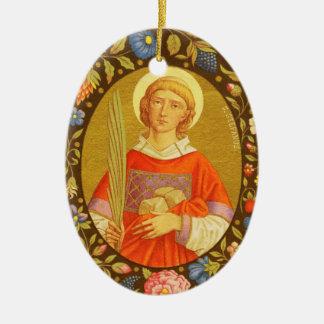 Geisterbild St Stephen der ProtoMartyr (P.M. 08) Keramik Ornament