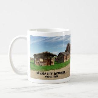 Geisterstadt: Nevada-Stadt, Montana Kaffeetasse