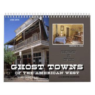 Geisterstädte des amerikanischen Westens Abreißkalender