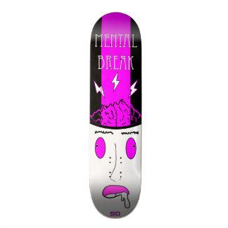 Geistesbruch 18,1 Cm Old School Skateboard Deck