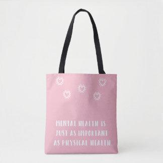 Geistesgesundheits-Bewusstseins-Tasche Tasche