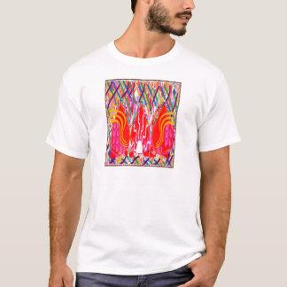 Geistiges Feuer: Erfolgreiches Leben der T-Shirt