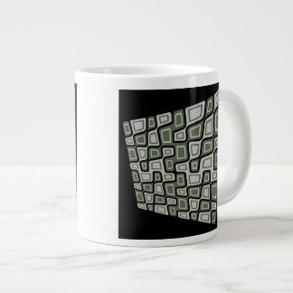 Gekippte Quadrate Jumbo-Tasse