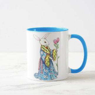 Gekleidete Hasen Tasse