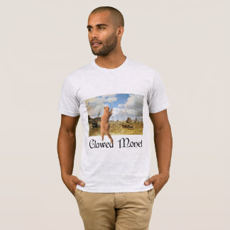 Gekratzter Monet T-Shirt