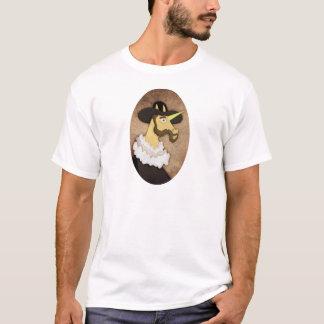 Gekräuseltes Einhorn T-Shirt