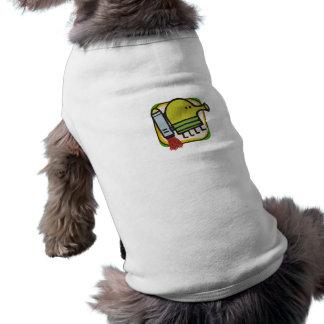 Gekritzel-Sprungs-Haustier-Shirt Shirt