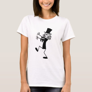 GekritzelWizard101 Ghoul (Schwarzes u. Weiß) T-Shirt