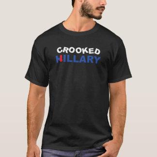 Gekrümmter Hillary T-Shirt