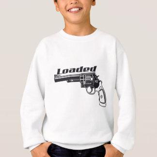 Geladenes Handgewehr durch US-Gewohnheits-Tinte Sweatshirt