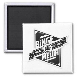 Gelage-Medium-Magnet Quadratischer Magnet