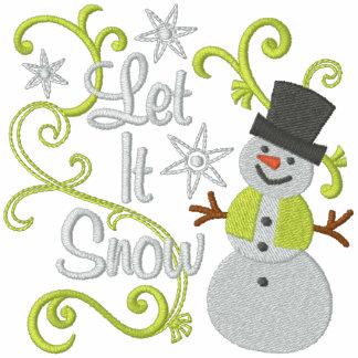 Gelassen ihm schneien Snowman Freizeitjacken