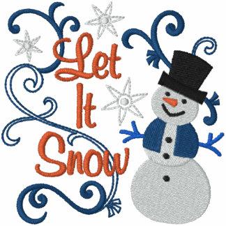 Gelassen ihm schneien Snowman Sportjacken