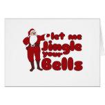 Gelassen mir Jingle Ihre Bell Karten