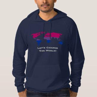 Gelassen uns das Weltsweatshirt ändern Hoodie