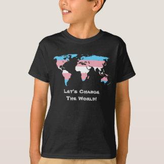Gelassen uns den WeltT - Shirt ändern