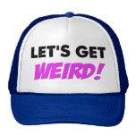 Gelassen uns erhalten Sie sonderbaren Hut Retrokult Cap