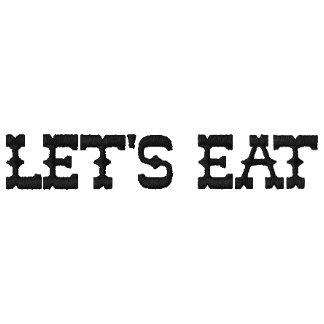 Gelassen uns essen Sie