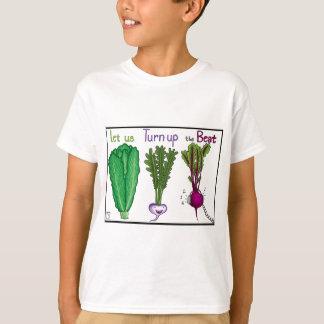 Gelassen uns herauf den Schlag sich drehen T-Shirt