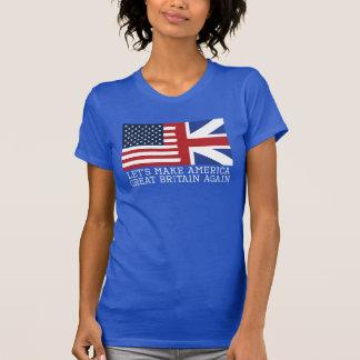 Gelassen uns machen Sie Frauen Amerikas T-Shirt