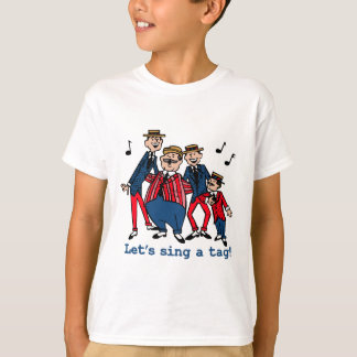 Gelassen uns singen Sie einen Umbau T-Shirt