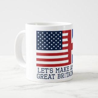 Gelassen uns stellen Sie Tasse Amerikas Jumbo-Tasse