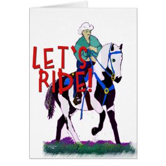Gelassen uns wunderliche Pferdesammlung reiten Karte
