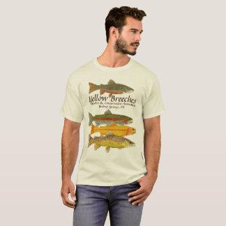 Gelb behost Angler-Version 2 T-Shirt