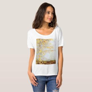 Gelb-Blätter T-Shirt
