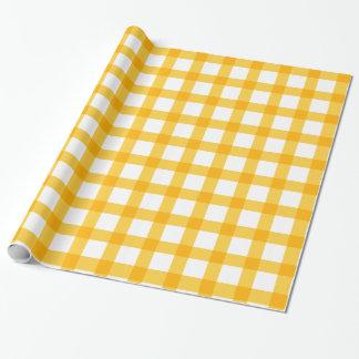 Gelb Geschenkpapier