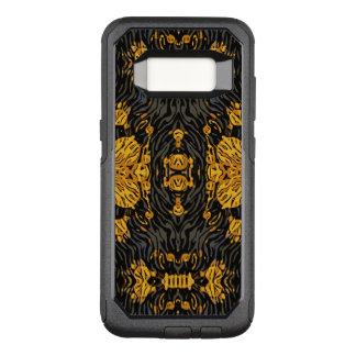 Gelb-orangees Tier OtterBox Commuter Samsung Galaxy S8 Hülle