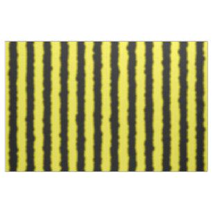 Gelb, Schwarz-Biene Ähnliches Stoff