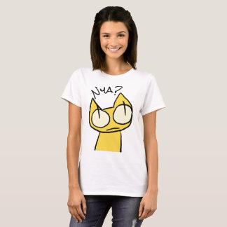 Gelbe Anstarrenkatzen T-Shirt