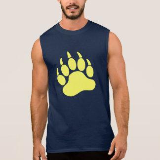 Gelbe Bärn-Stolz-Bärentatze (L) Ärmelloses Shirt