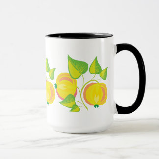 Gelbe Beeren Tasse