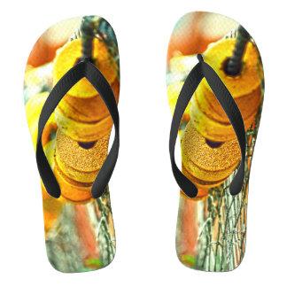 Gelbe Boje Flip Flops