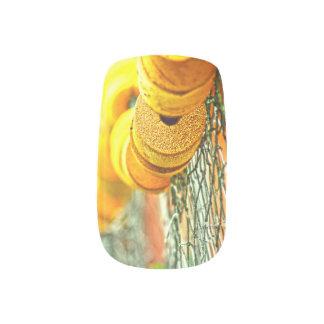Gelbe Bojen Minx Nagelkunst