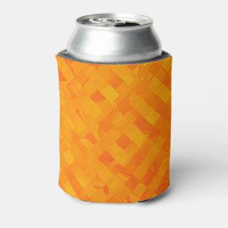 Gelbe Criss Quersoda-Dose cooler Dosenkühler