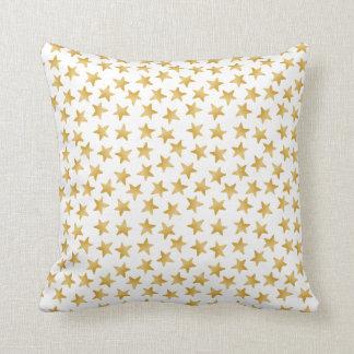 Gelbe Farbsteigung spielt nahtloses Muster die Kissen
