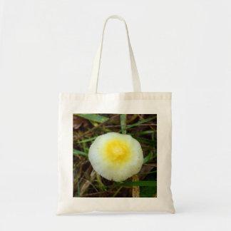 Gelbe Feld-Kappen-Pilz-Taschen-Tasche Tragetasche