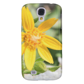 Gelbe GebirgsWildblume Galaxy S4 Hülle