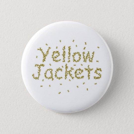Gelbe Jacken Runder Button 5,7 Cm