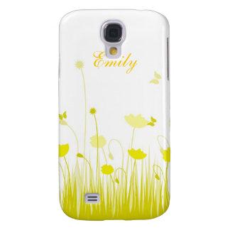 Gelbe Mohnblumen Galaxy S4 Hülle