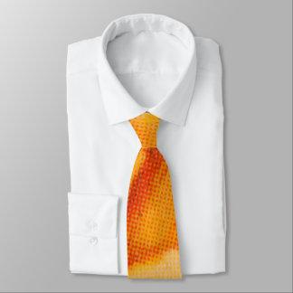 Gelbe Rose Personalisierte Krawatte